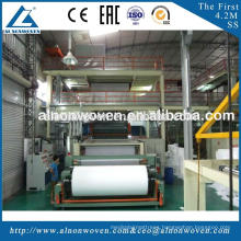 Hot selling AL-1600 S 1600mm PP spunbond non woven fabric making machine with low price